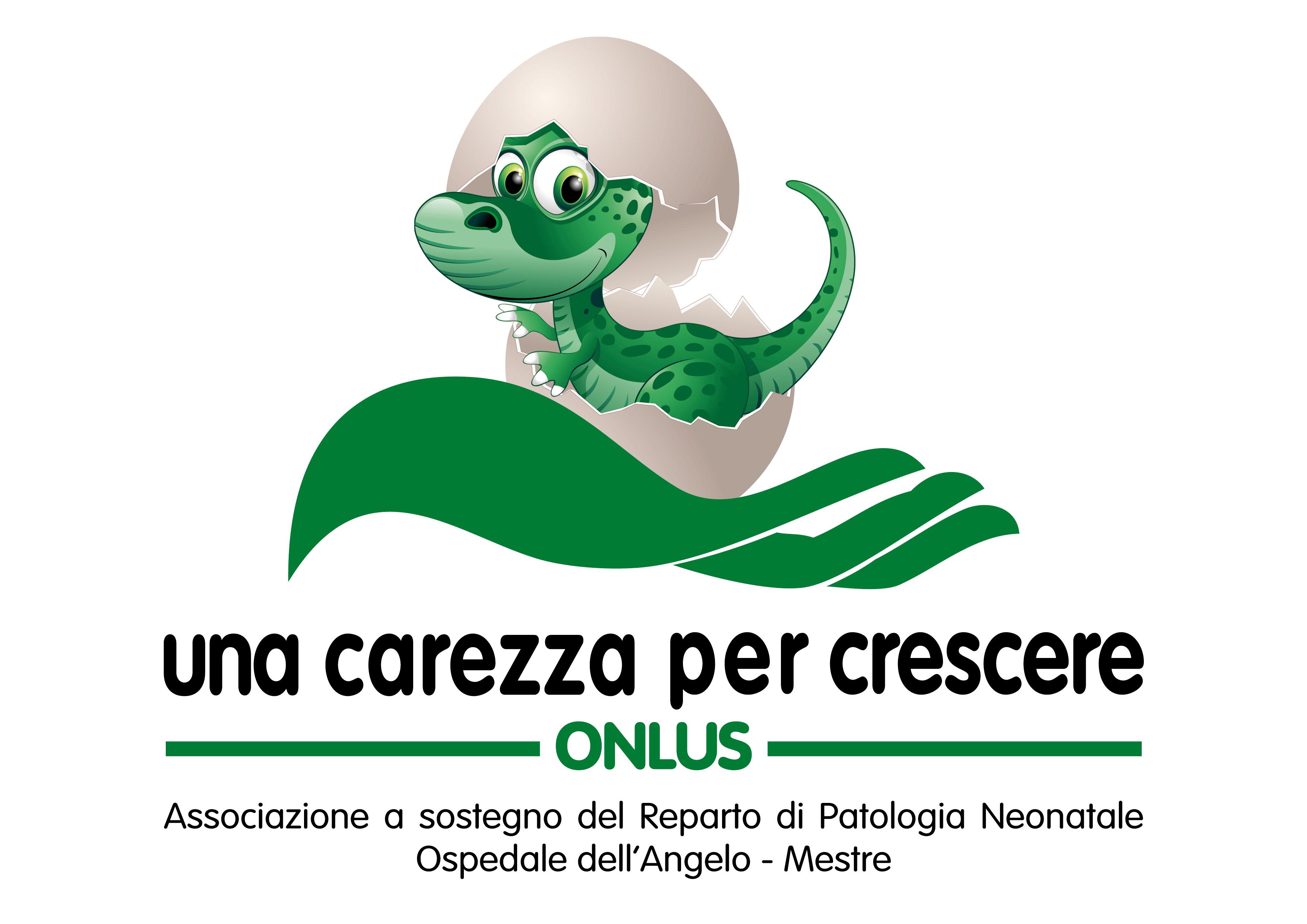 UNA CAREZZA PER CRESCERE logo