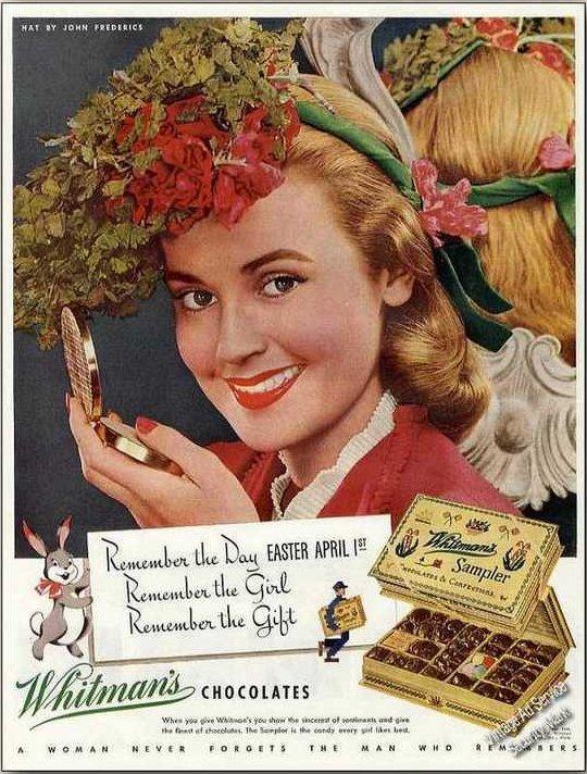 Pubblicità-Cioccolata-Whitman-Pasqua-1945