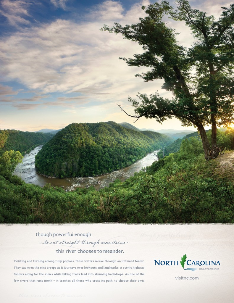 visit_north_carolina_brand_print_campaign_frenchbroad_aotw