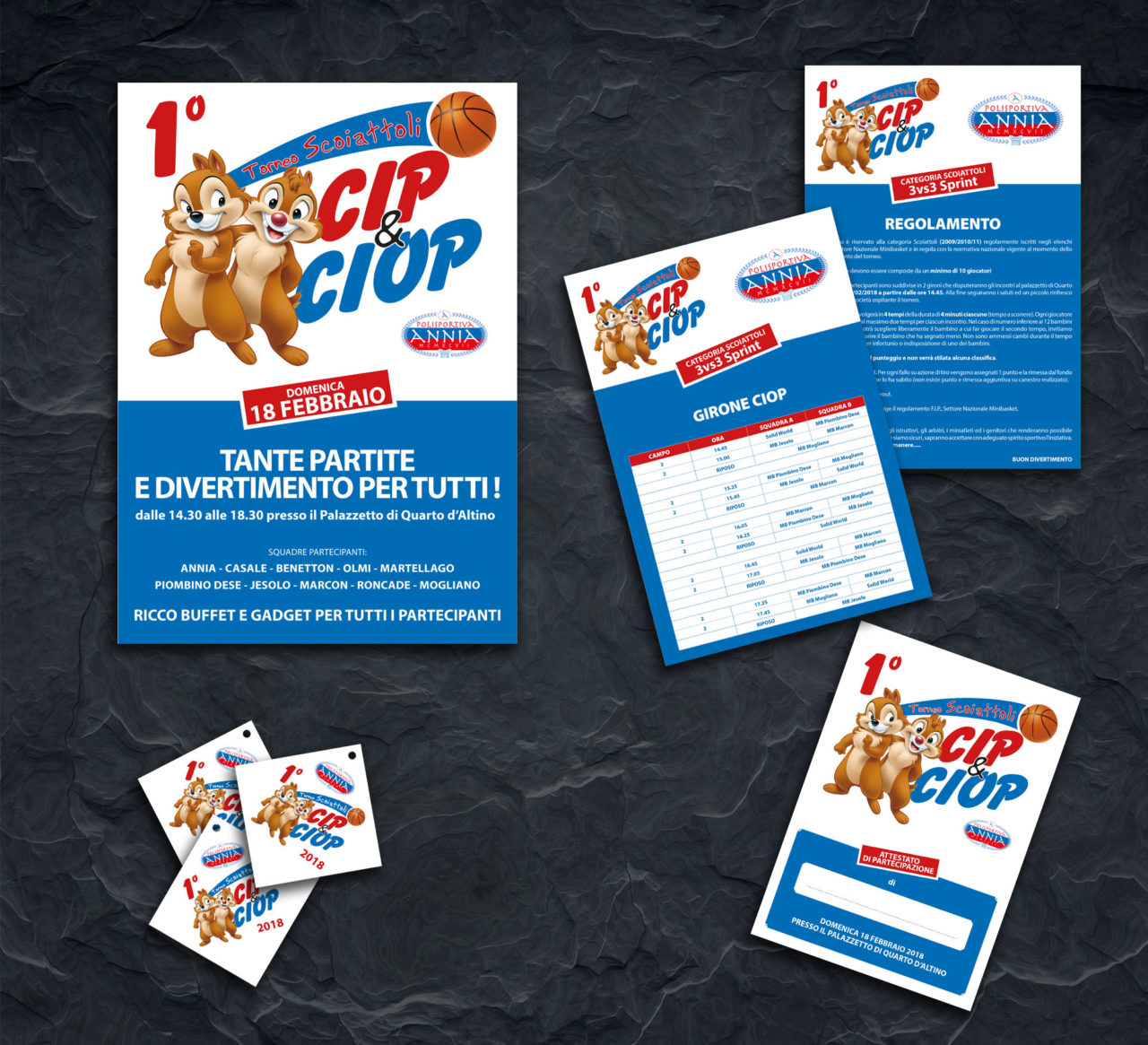 Basket Annia - Torneo Cip e Ciop